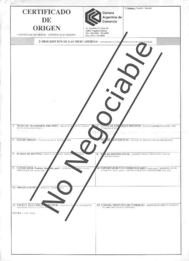 requisitos certificado de origen argentina warez